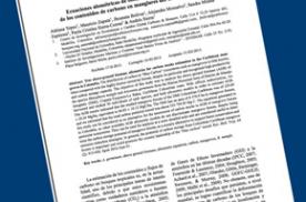 Ecuaciones alométricas de biomasa aérea para la estimación de los contenidos de carbono en manglares del Caribe Colombiano